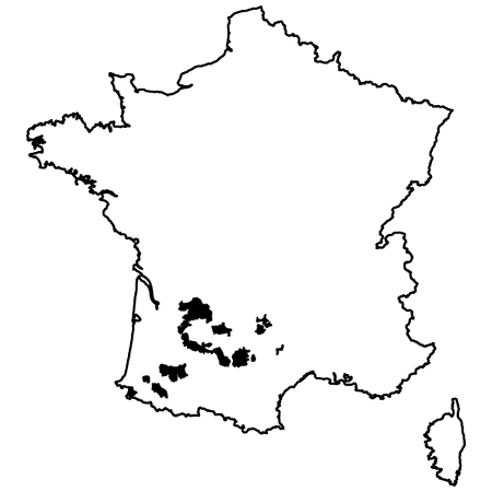 Map of Sud-Ouest